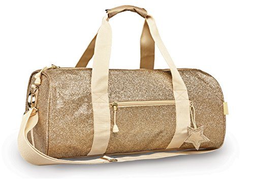 Price comparison product image Little Girl's Sparkalicious Gold Duffel,  Large Accessory,  Gold,  Large