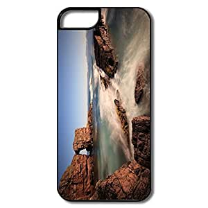 Designed Cute Perfect-Fit Rocky Sea View IPhone 5/5s Case For Team