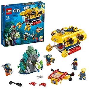 LEGO CityOceans SottomarinodaEsplorazioneOceanica, Playset Avventure Acquatiche per i Bambini, 60264  LEGO