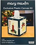 Mary Maxim Christmas Plastic Canvas Tissue Box Kit, 5''