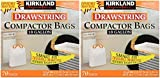 kirkland compactor - Kirkland Compactor Bags, 18 Gallon, Smart Fit Gripping Drawstring, 70 Count (2 Pack)
