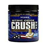 Weider Global Nutrition Crush Pre Workout - Blue Raspberry - 330 Grams-pack of 2