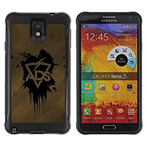 ZFresh Rugged Protective Case Cover ADS Lightning - Samsung Note 3