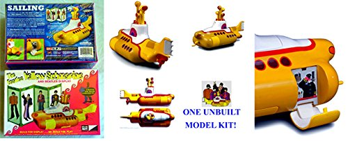 the-beatles-yellow-submarine-plastic-model-kit-round-2-live-nation-2012-uncirculated-factory-sealed-