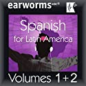 Rapid Spanish (Latin American): Volumes 1 & 2 Audiobook by  earworms Learning Narrated by Marlon Lodge
