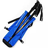 Hikup Hiking Stick Bag Trekking Pole Bag with Waterproof 3 colors