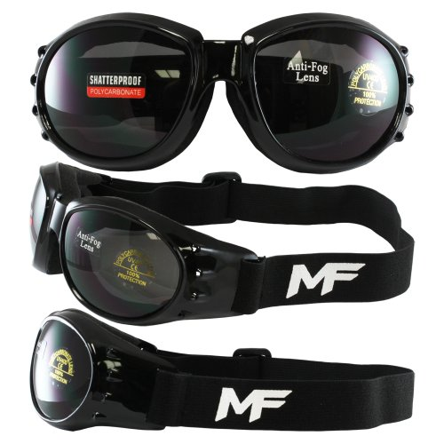 New - MF - Vulcan Goggles with Smoke Lenses