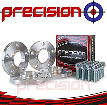 Precision 2 Pairs of Hubcentric 15mm Wheel Spacers with Bolts for /Àudi S5 RS5 PN.SFP-4PHS20+20BM1440R115