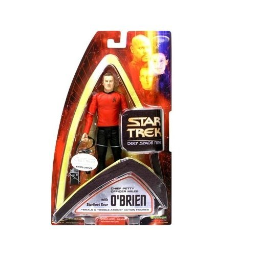Star Trek Deep Space Nine Chief Miles OBrien (Trials And Tribble-ations) Action Figure
