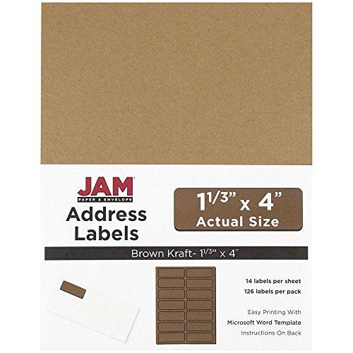 Kraft Address Labels - 5