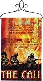 """The Call"" Firefighters and First Responders Inspirational Wall Hanging 26″ x 17″ For Sale"
