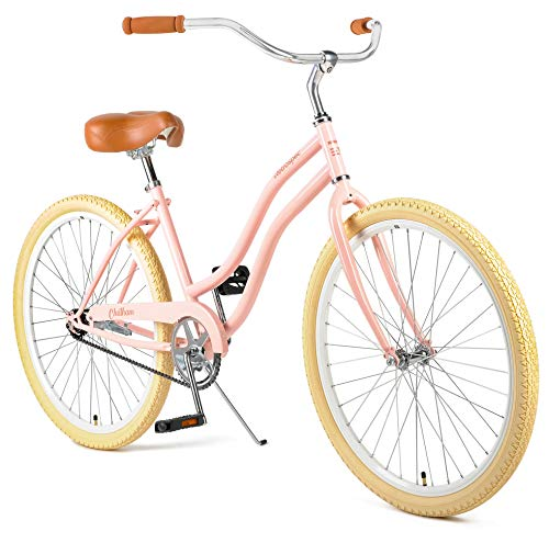 Retrospec Chatham Women's Beach Cruiser, Blush Pink, 16inch/One Size
