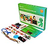 ELECROW BBC Micro:bit Starter Kit Crowtail STEAM Educational Basic Starter Kit(with Microbit Board and Tutorial)
