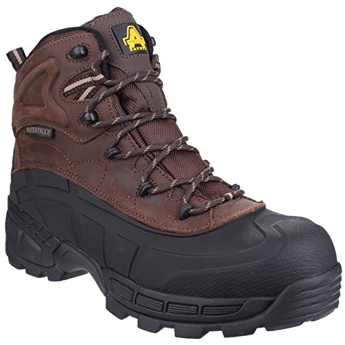 Amblers Safety Black Fs430 Orca S3 Waterproof Boot - 9