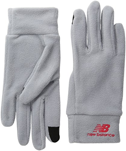 Adult Fleece Gloves (New Balance Adult Heavyweight Fleece Gloves, Steel, Large/Extra Large)
