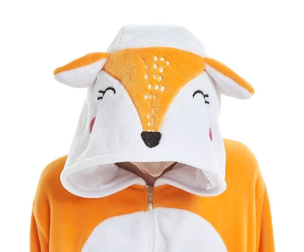 Ruogu Unisex Adult Animal Onesie Pajamas Halloween Christmas Cosplay Onepiece Costume