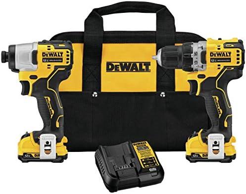 DEWALT DCK221F2 XTREME 12V MAX Brushless Cordless Drill Impact Driver Kit