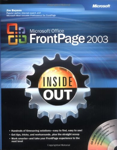 Microsoft® Office FrontPage® 2003 Inside Out (Bpg-Inside Out)