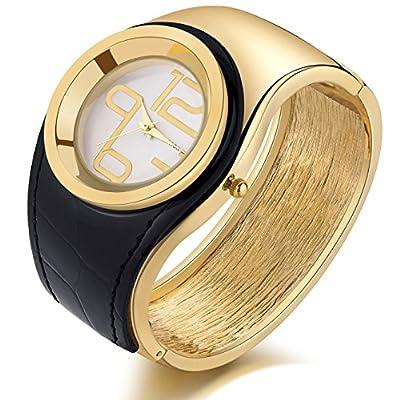 Candy Color Fashion Daisies Flower Women's Crystal Bangle Bracelet Quartz Watch
