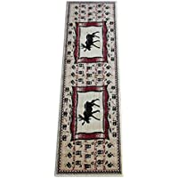 Cabin Runner Area Rug With Moose Image (2 Feet 2 Inch X 7 Feet 2 Inch)