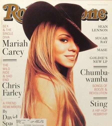 Mariah Carey Rolling Stone (Rolling Stone Magazine # 779 February 5 1998 Mariah Carey (Single Back Issue))