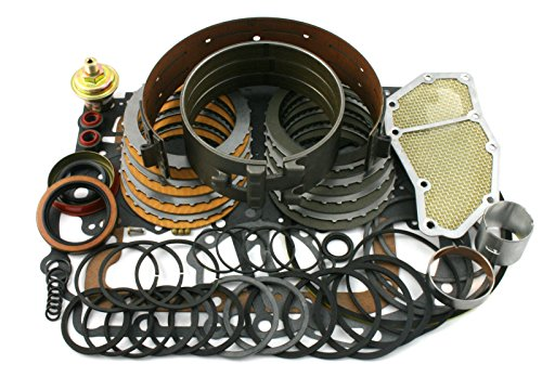 Wellington Parts Corp Ford C4 Transmission Rebuild Overhaul Deluxe Kit 1965-1969 W/ Band Filter, etc