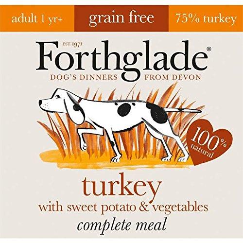 Forthglade Complete Adult Turkey, Sweet Potato & Veg GRAIN FREE 9 x 125g (PACK OF 6)