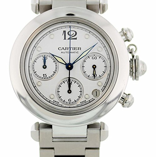 - Cartier Pasha Automatic-self-Wind Male Watch 2412 (Certified Pre-Owned)