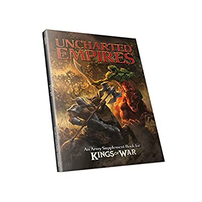 Kings of War 2nd Edition - Uncharted Empires (Army Supplement Book) MGKW05 Mantic Games from Mantic Games