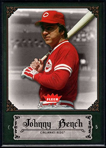 Baseball MLB 2006 Fleer Greats of the Game #54 Johnny Bench Reds