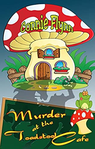 book cover of Murder at the Toadstool Cafe