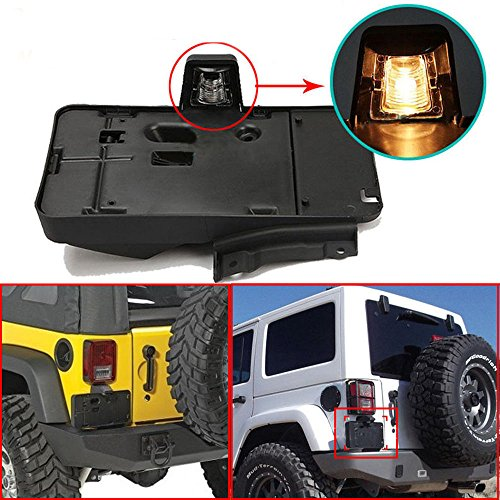 Jeep License Plate Bracket - 4