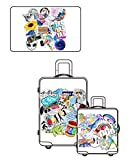 Jasion 103-Pcs Vinyl Mix Stickers Waterproof Cute