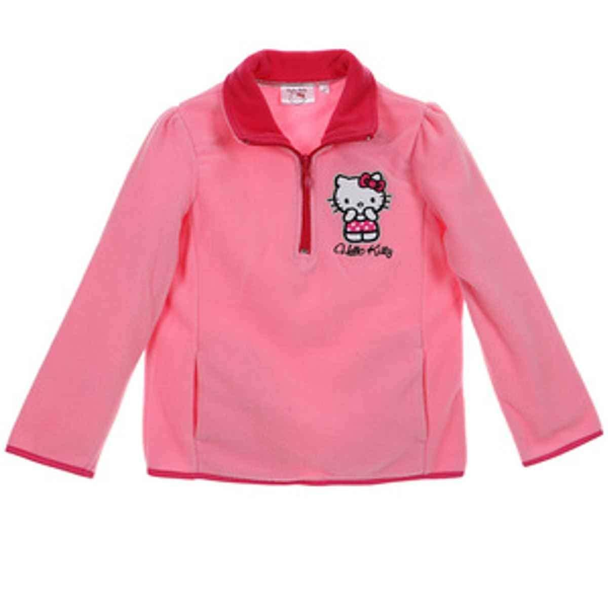 Girls Hello Kitty Fleece Top