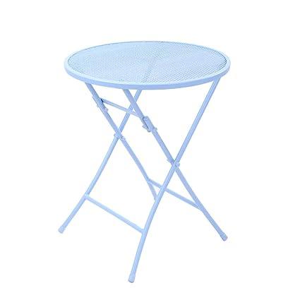 Moderno Minimalista Mood Plegable Mesa y sillas de Hierro ...