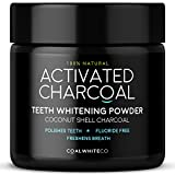 Activated Charcoal Natural Teeth Whitening Powder by Coal White® | Manufactured in the UK