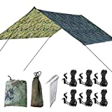 Hiplle Anti-Mosquito Swing Hammock,Double People Hammock,Swing Mosquito Boat for Camping& Outdoor