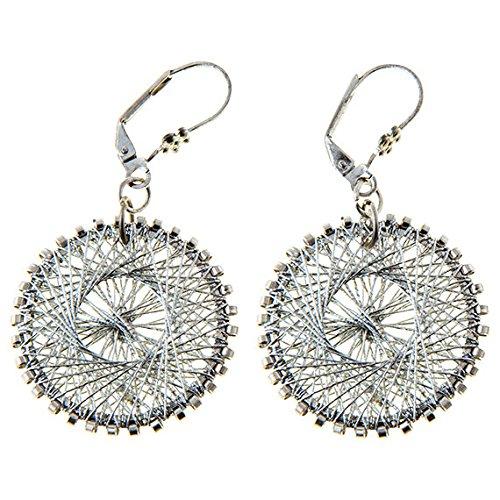 C5551 Amiti Zari Thread Earrings ()