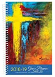 2018-19 Cross Art Inspirational Christian Daily Planner August 2018 to July 2019 Academic Year Day Weekly Monthly Views