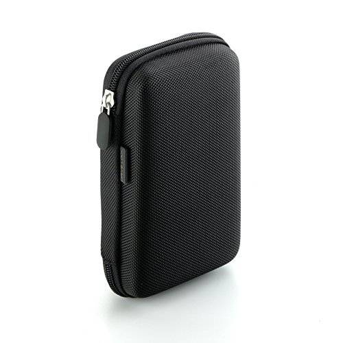 Drive Logic DL-64-BK Portable EVA Hard Drive Carrying Case Pouch, Black