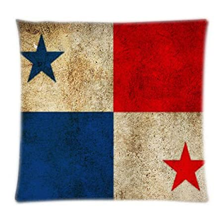 UK-Jewelry Diy Panama Flag Wallpaper Bedding Sets Throw Cover Pillow Cases Two Sides Pillowcase 18x18 Inch: Amazon.co.uk: Kitchen & Home