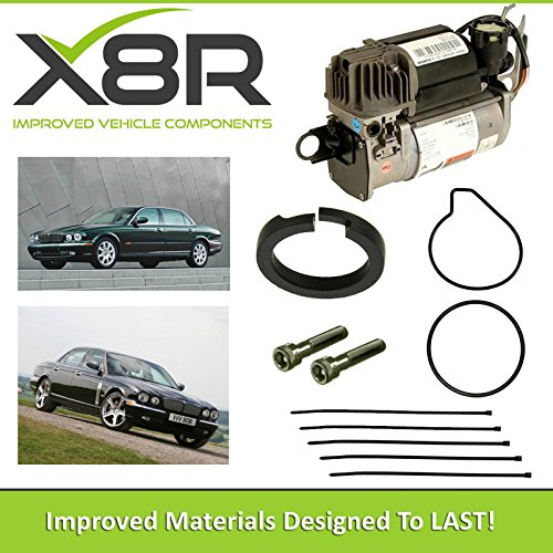 JAGUAR XJ SERIES WABCO AIR SUSPENSION COMPRESSOR PISTON RING REPAIR FIX KIT X8R45