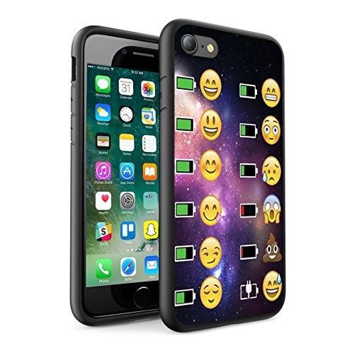 iPhone X étui Peau de couverture, Protection unique personnalisée couverture rigide mince Thin Fit PC Étui de protection résistant aux rayures Couverture pouriPhone X - Emoji 0033