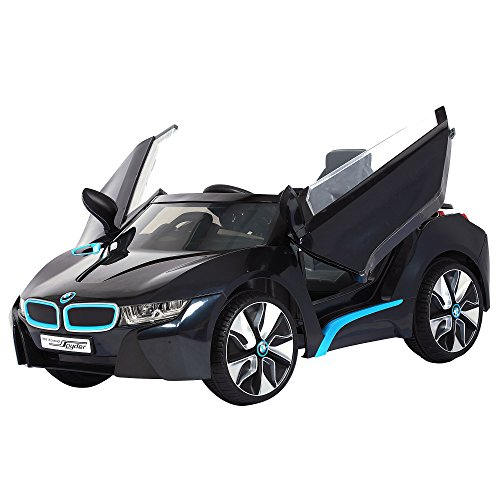 Rollplay 6 Volt BMW i8 Ride On Toy, Battery-Powered Kid's Ride On Car - Black
