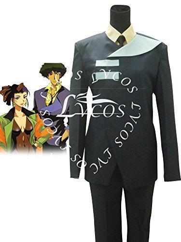 Spike Costume Cowboy Bebop (Lvcos Men's Cowboy Bebop Spike Spiegel Cosplay Costume)