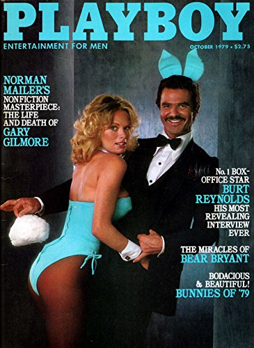 (Playboy Vintage Magazine Back Issue Dated October 1979 with Burt Reynolds on the Cover)