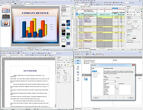 Office Suite  Home Student And Business By Apache Openoffice