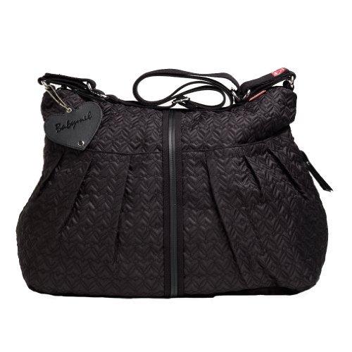 Babymel Amanda Quilted Diaper Bag - Black