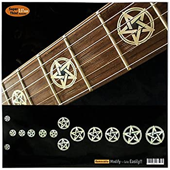 Fretboard Markers Inlay Sticker Decals for Guitar & Bass - Pentagram /Kevin  Bond