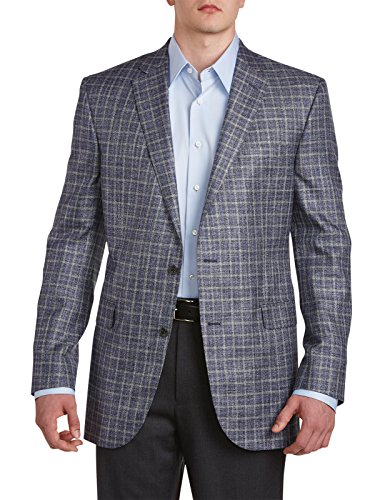 Jack Victor Large and Tall Examine Sport Coat Bamboo